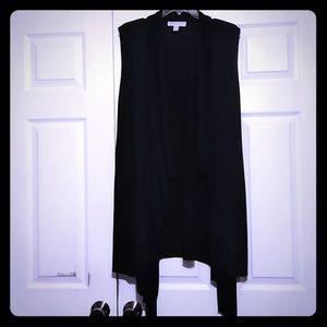 Black Michael Kors sweater vest/sweater(Plus size)